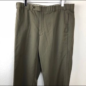 Brooks Brothers Mens Dress Pants, Brown 36/32